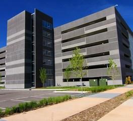 Wells concrete health partners ramp exterior 2
