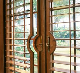 Woodfold Custom Shutters French Doors