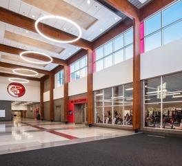 Zerr Berg Architects Central Cass North Dakota Corridor Hallway