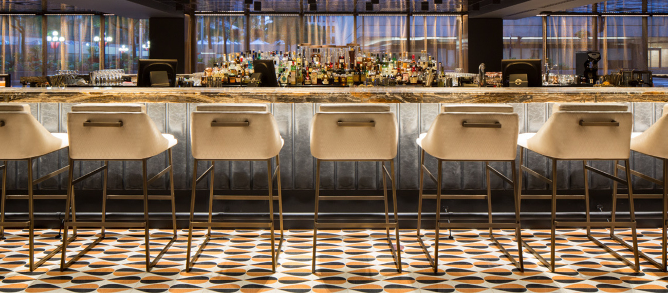 About qe bar terrazzo