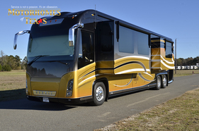 2008 Newell Coach 45' Bath & Half