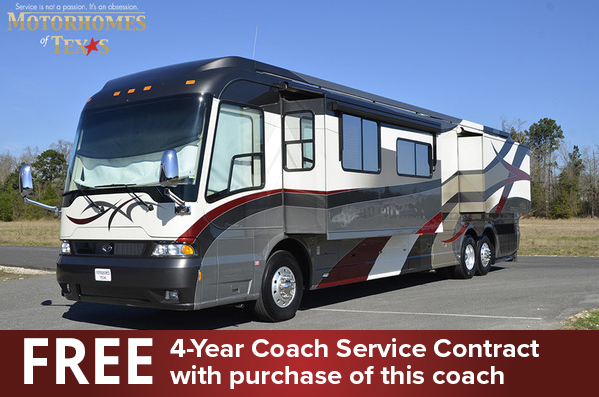 2008 Country Coach Magna 45 Rembrandt