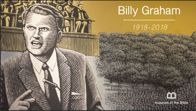 Billy Graham on the impact tapestry