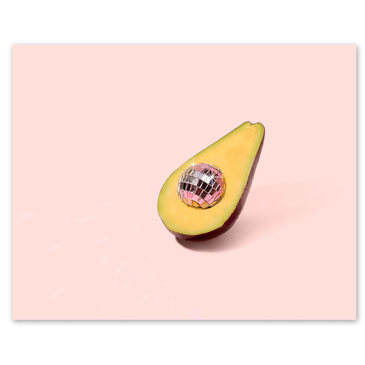 Cool Disco Avocado for 16 weeks of fertility