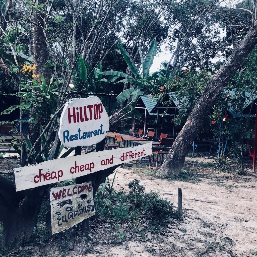 Thailand-hilltop restaurant