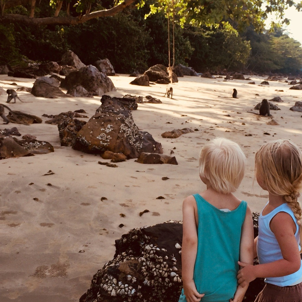 Travel with kids in Thailand