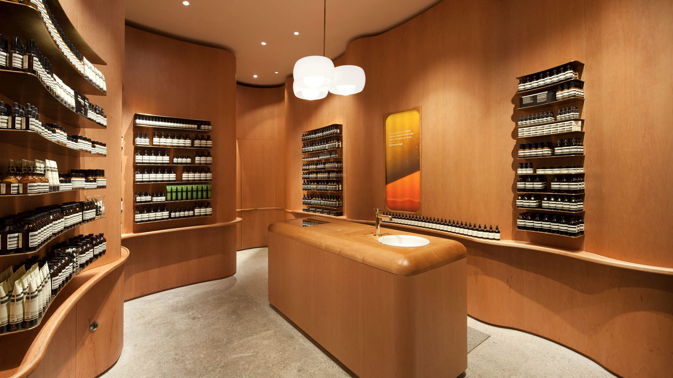 Aesop Store inspiration