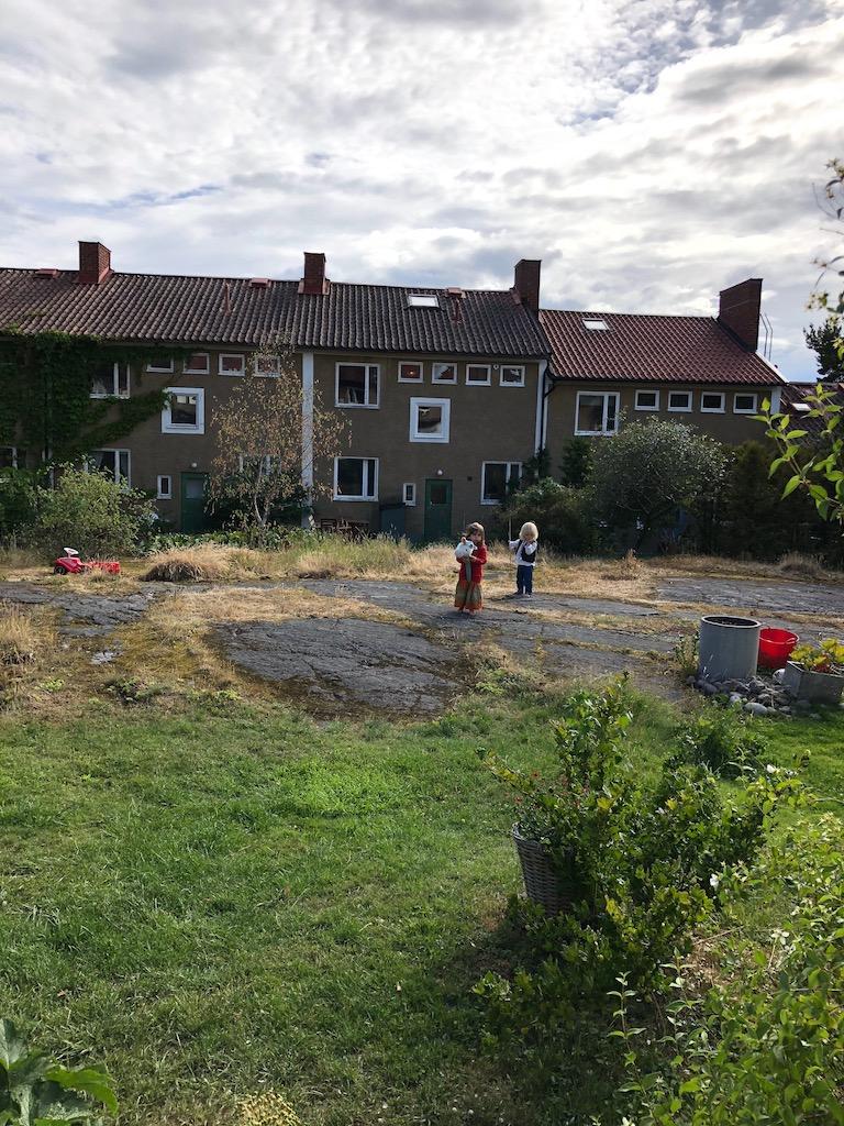 Swedish Midsummer - Children Playing