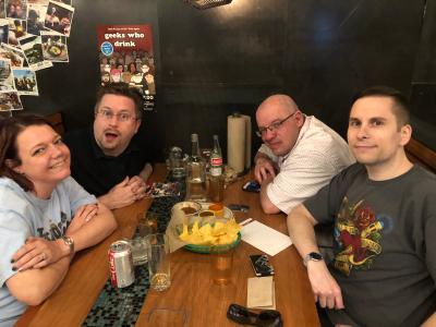 Geeks Who Drink at Los Chingones (Stapleton)