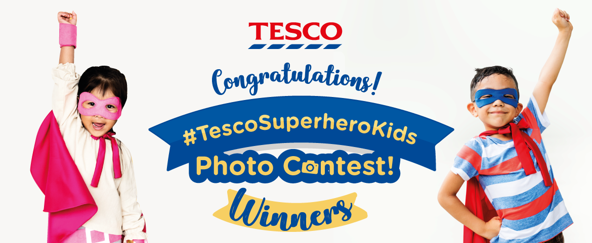 Tesco Superhero Kids Photo Contest