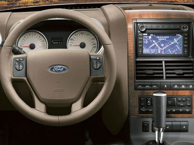 ymms - 2008 Ford Explorer Interior