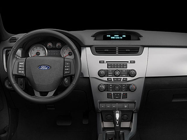 2009 ford focus interior drivers dashboard