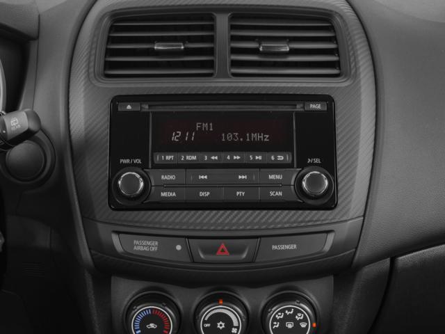 2015 mitsubishi outlander sport 2wd 4dr cvt es interior stereo system
