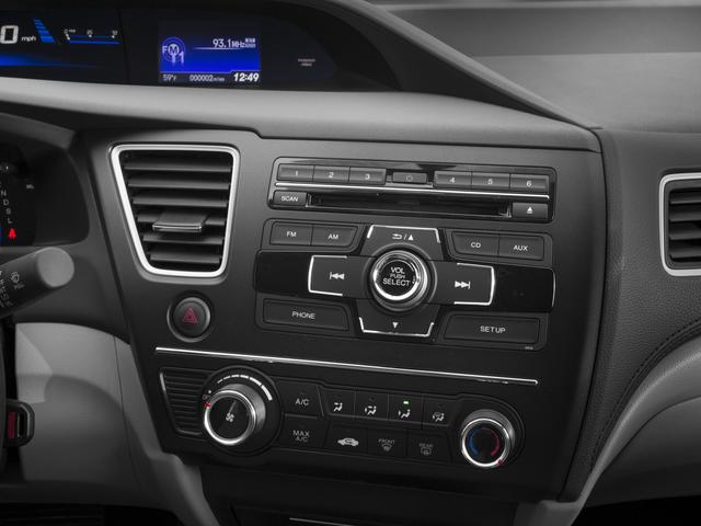 2015 Honda Civic Sedan Lx 4dr Sedan Exterior Car Interior Design