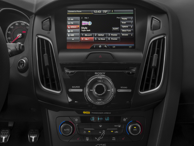 Image result for interior of 2016 focus stereo