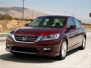 Midsize Sedan Comparison: 2015 Honda Accord