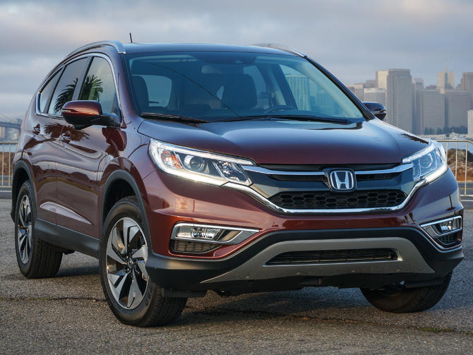 Check out the updated 2015 Honda CR-V Touring (pictures)