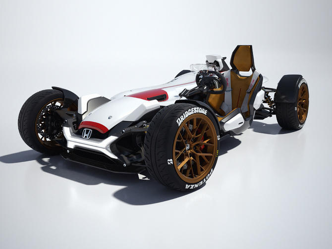 Honda's latest concept is part car, part motorcycle, totally rad