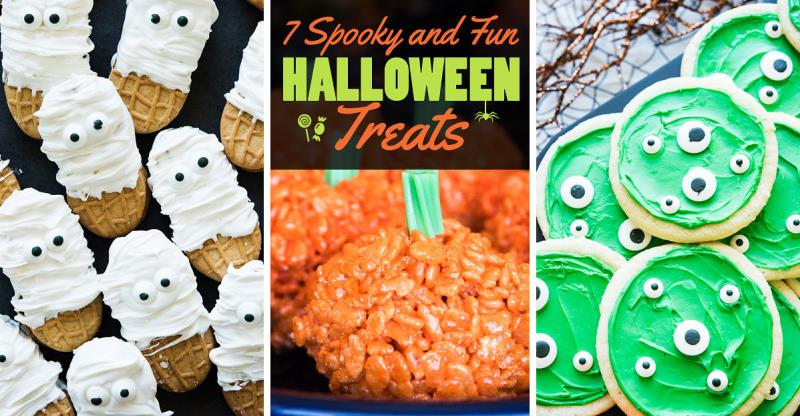 Last Minute Halloween Treats