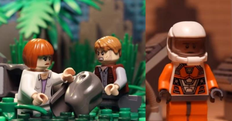 Relive the movie magic of 2015 with Lego