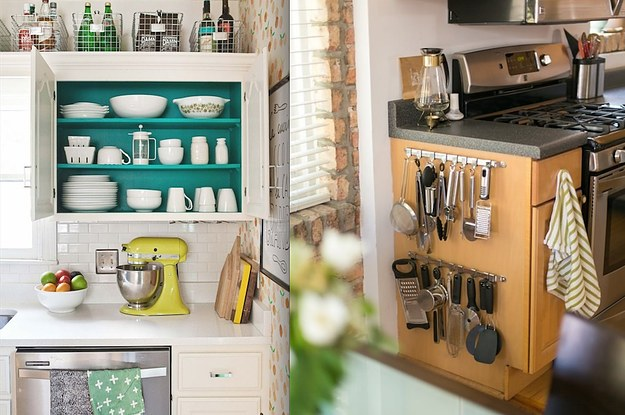 kitchen extra storage 17 ways to squeeze a storage out of a tiny 1605