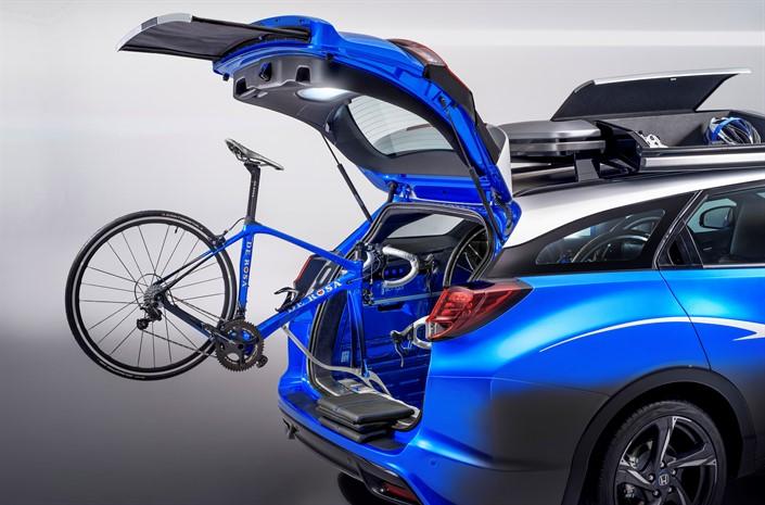 A Cyclists Dream Car