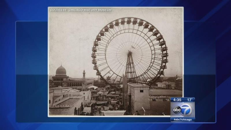Ferris Wheel Construction Begins At Navy Pier