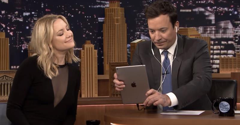 Jimmy Fallon and Kate Hudson can Dubsmash with the best of 'em