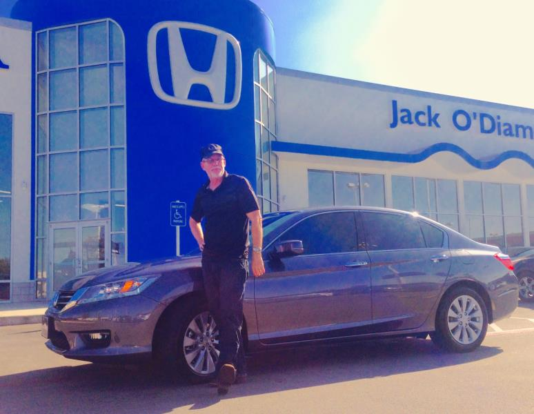 Congrats to Fred Statton and his 2015 Touring Accord.