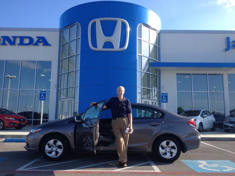 Congratulations Mr. Jay on the purchase of his new 2015 Honda Civic!!!
