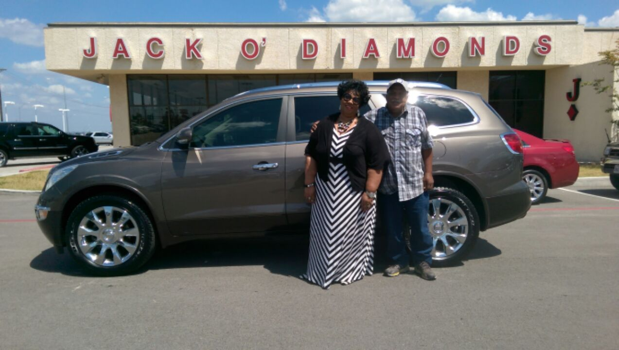 Congratulations to Mr. an Mrs. Prince on the purchase of their 2011 Buick Enclave!