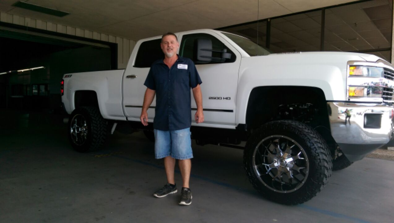 Congratulations to Randy Parnell on the purchase of his 2015 Chevrolet 2500!