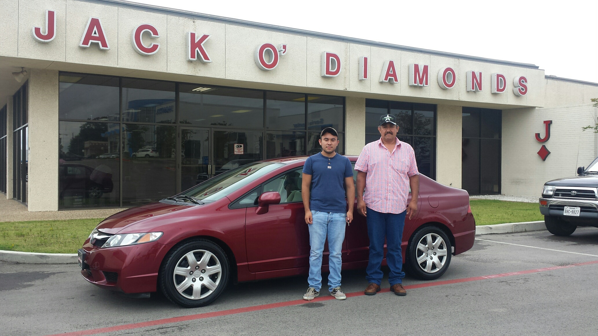 Congratulations to Daniel Moralez & his son from Henderson!