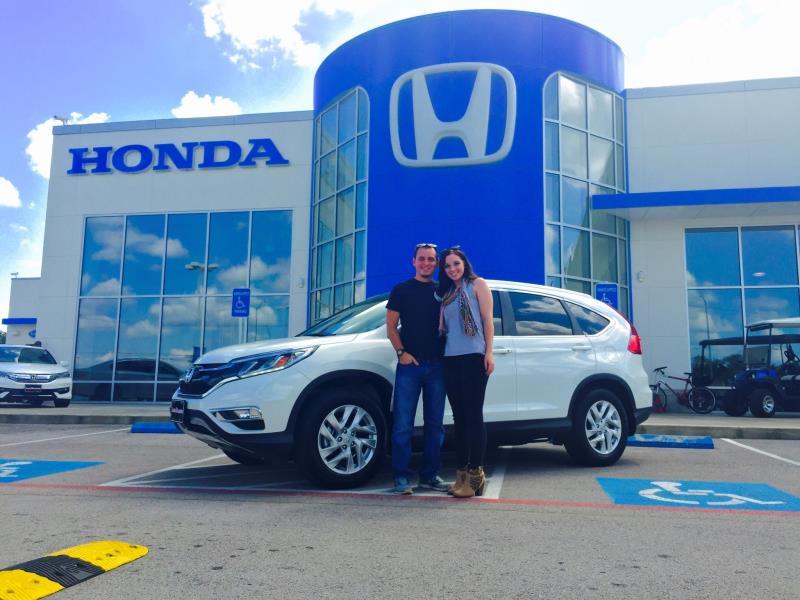 We got a Honda CR-V!