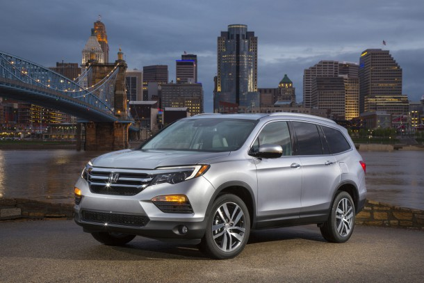 Honda Continues Shift Toward SUVs, Crossovers With 2016 Pilot Production