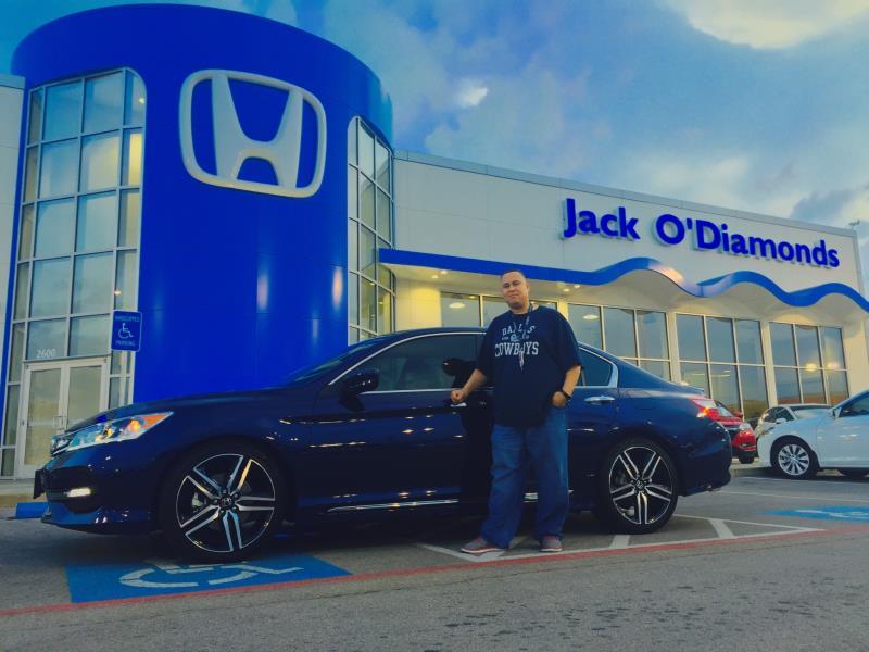 Cowboys blue Honda!