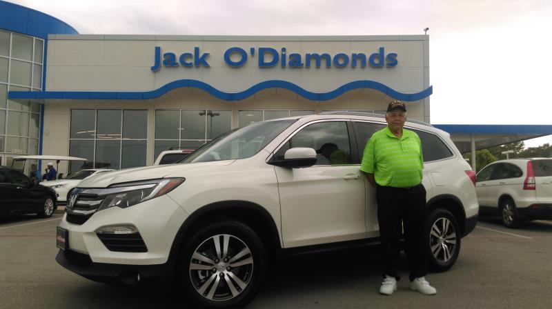 Jack O'Diamonds Honda