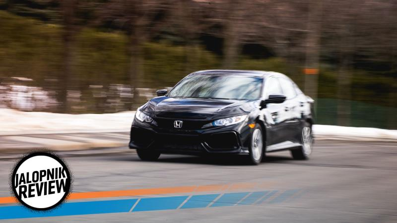 A 2017 Honda Civic Hatchback LX With A Manual Is The Small Car To Buy