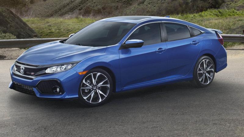 Honda reveals the 205-horsepower Civic Si sedan and coupe