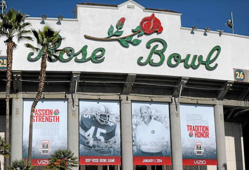 Honda snags naming rights for Rose Bowl's front lawn