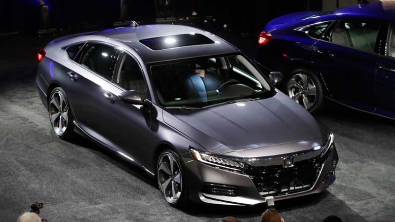 Honda Accord wins car of the year