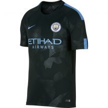 17/18 Mens Nike Breathe Manchester City FC Stadium Third Jersey