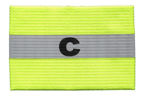Kwik Goal Reflective Captain Arm Band