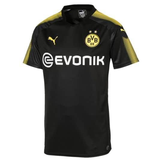 Puma 17/18 Borussia Dortmund Away Replica Jersey
