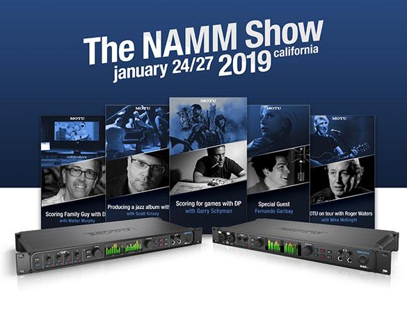 MOTU at NAMM 2019