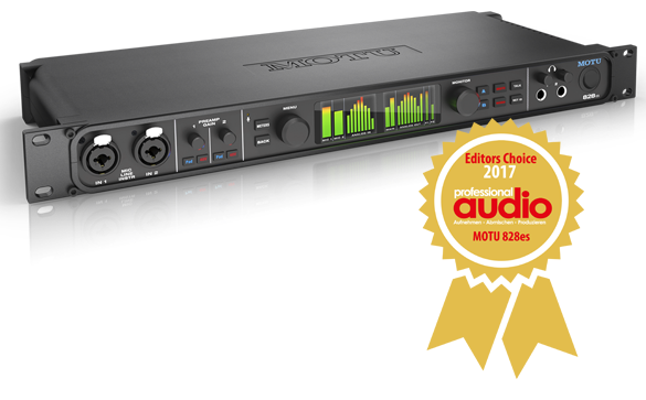 828es wins Professional Audio Editors' Choice 2017 award