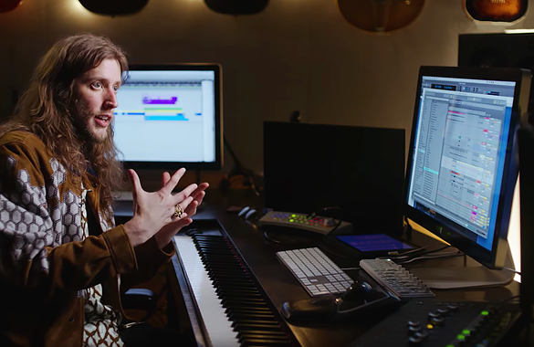 Ludwig Göransson scores Black Panther in Digital Performer