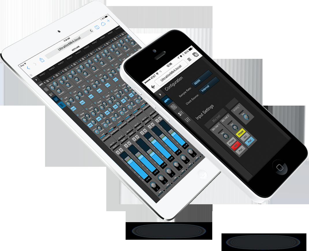 UltraLite-mk4 web app control