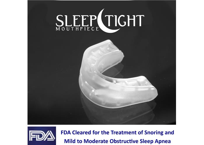 Image: Sleep Tight Mouthpiece - Snoring Mouthpiece Review