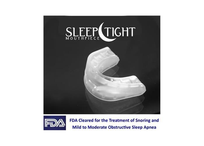 Image: The Sleep Tight Mouthpiece Makes Snores No More